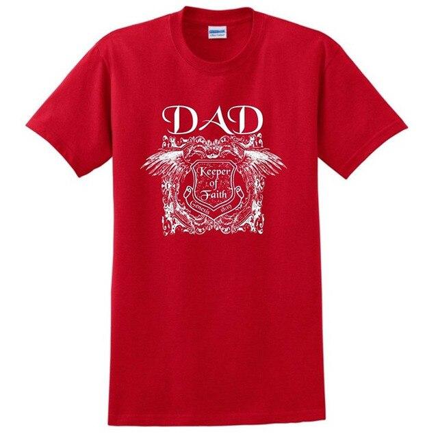 d394b05b4 Fe Religiosa Cristiana Regalo del Día de Padre papá T-Shirt, Dulce Camiseta,
