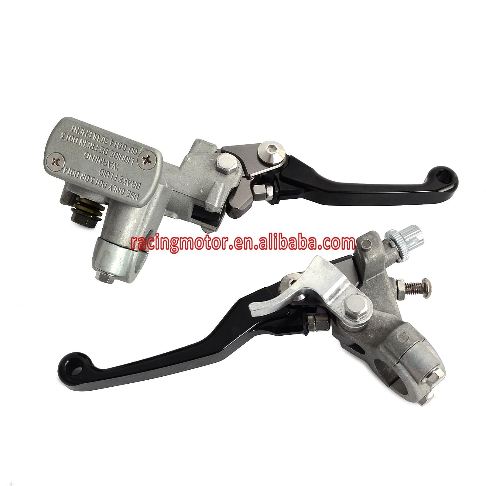 Black Brake Clutch Master Cylinder Lever For Honda CR125R CR250R CR500R CRF150R CRF250R CRF250X CRF450R CRF450X NEW