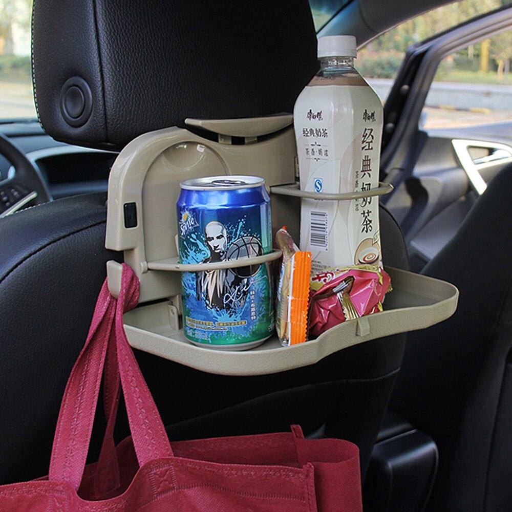 Автомобиль чашки держатель для напитков складной стол мусора стойку авто сиденье полка для Benz AMG B e c s Стекло CLA gla CLS GLE GLC c63s A45