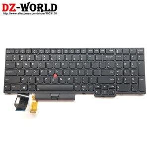Image 1 - Nuevo/Orig teclado Inglés retroiluminado para Lenovo Thinkpad E580 E590 T590 P53S L580 L590 P52 P72 P53 P73 Laptop retroiluminación 01YP680