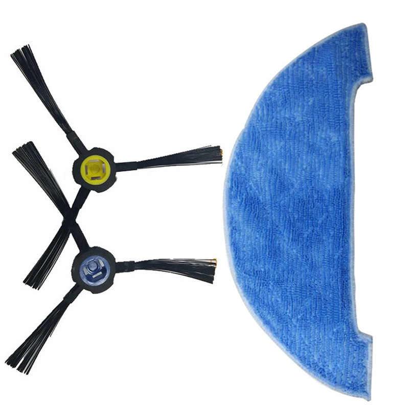 Боковая щетка + фильтр + Швабра Ткань для Ilife V8 V8S X750 A7 X800 X785 пылесос