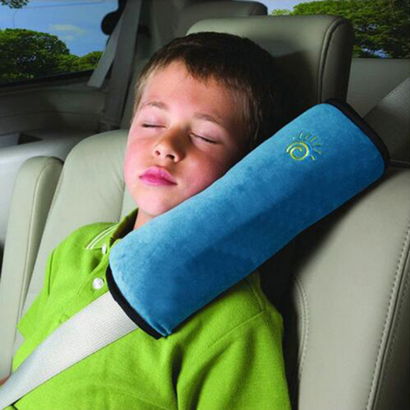 Baby Car Seat Pillow Kid Neck Protection Auto Safety Seat Belt Shoulder Cushion Pad Chil ...