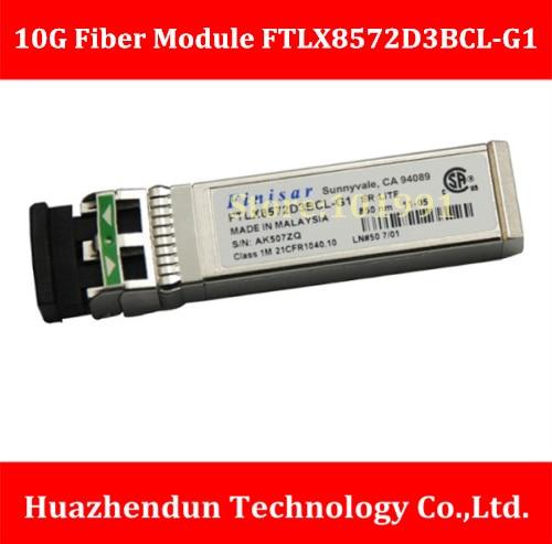 DEBROGLIE FTLX8572D3BCL-G1 10G Fiber Channel WDM Module 10G 10.3Gb/s -40/85 DEG C SFP+ LC 10g sfp optical fiber straight wire 5m connect 10g network card original brand new well tested working one year warranty