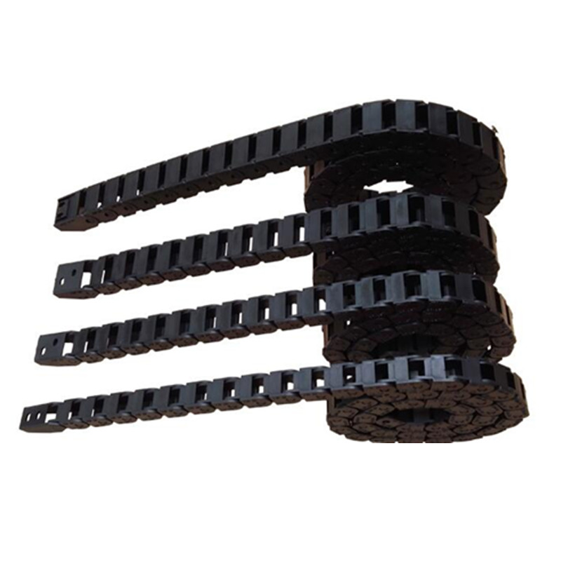 Tank Chain 10*20 15*30 10x10 7x15mm Bridge Type Non-Opening Plastic Towline Transmission Chains For DIY CNC Engraving Machine