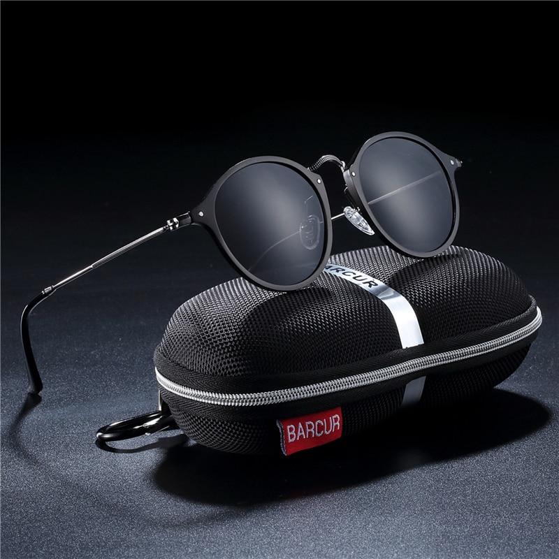 HTB12UbSaLfsK1RjSszgq6yXzpXab BARCUR Aluminum Vintage Sunglasses for Men Round Sunglasses Men Retro Glasses Male Famle Sun glasses retro oculos masculino