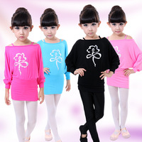 Children Leotard Gymnastics Leisure Kids Yoga Wear Girl Latin Dancing Costume Ballet Costume Performing Exercises Dancewear 16
