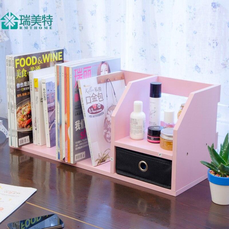 Dikke Planken Boekenkast.Dikke Met Rook Eenvoudige Creatieve Office Desktop Bureau Plank