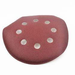 30 шт. 125 мм круглый наждачная бумага диск песок листов с 8 отверстиями Грит 320/180/60/800 /150/1000 крюк-петля шлифовальный диск для наждачная бумага