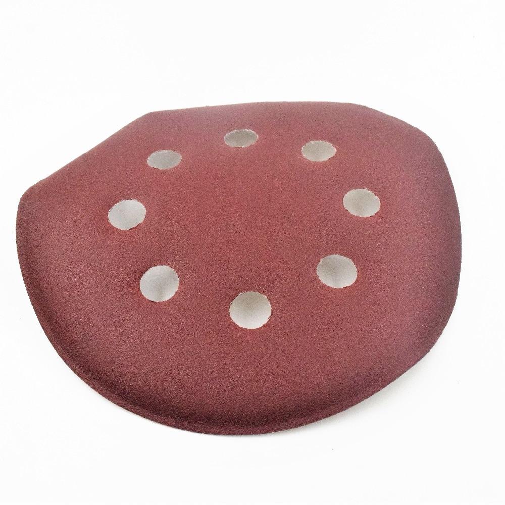 30ps 125mm Round Sandpaper Disk Sand Sheets With 8 Holes Grit 320/180/60/800/150/1000 Hook Loop Sanding Disc For Sander Grits