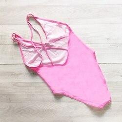 WIFEY, сексуальный купальник, женская одежда для плавания, Цельный боди, пуш-ап, монокини, Холтер, крест, купальный костюм, одежда для плавания, ... 3