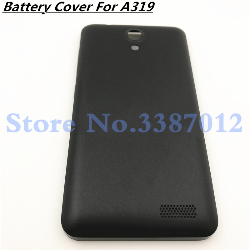 Good quality New <font><b>Battery</b></font> Back <font><b>Cover</b></font> For <font><b>Lenovo</b></font> A319 Housing Case Replacement Parts With Power Volume Buttons image