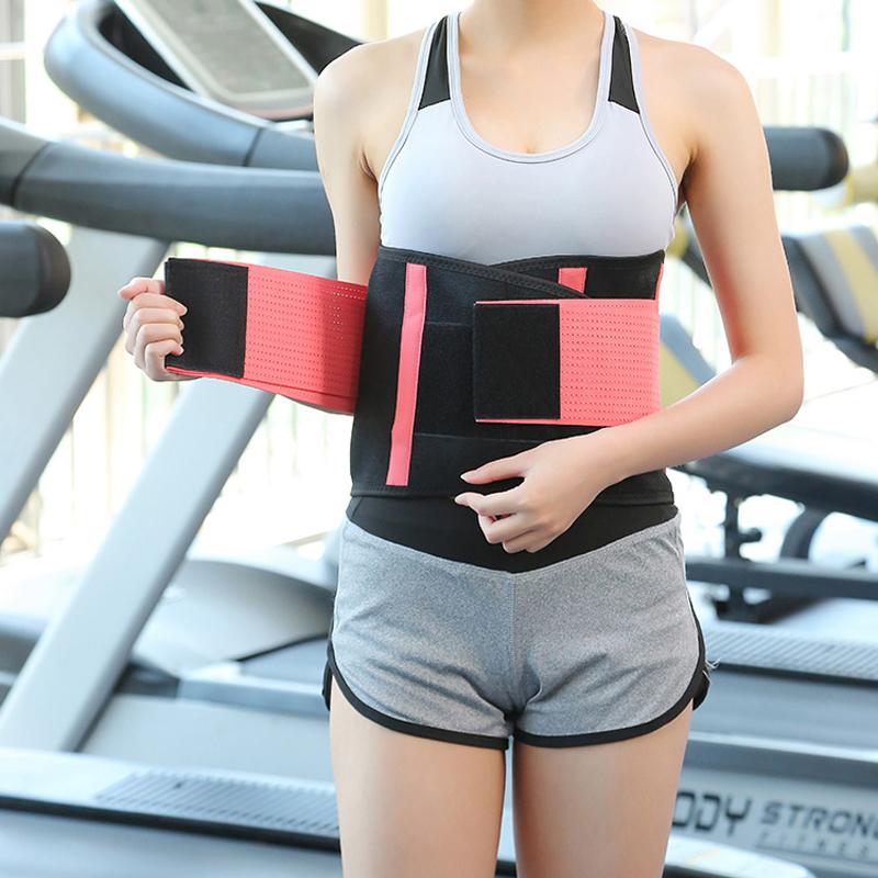 Waist Trimmer Belt Posture Corrector Bandage Corset Orthopedic Brace Back Lumbar Support Belt Man Woman Fitness Belt Body Shaper