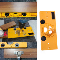 35MM Cup Style Hinge Boring Jig Drill Guide Set Door Hole Locator Template for Kreg Tool Great Value