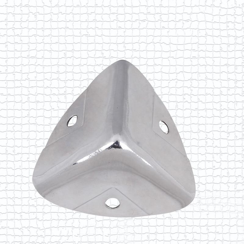 NRH 7401-28B chrome Protecteur d'angle de qualité Supérieure Flight case étui de route performance d'équipement cornerite finition chromée