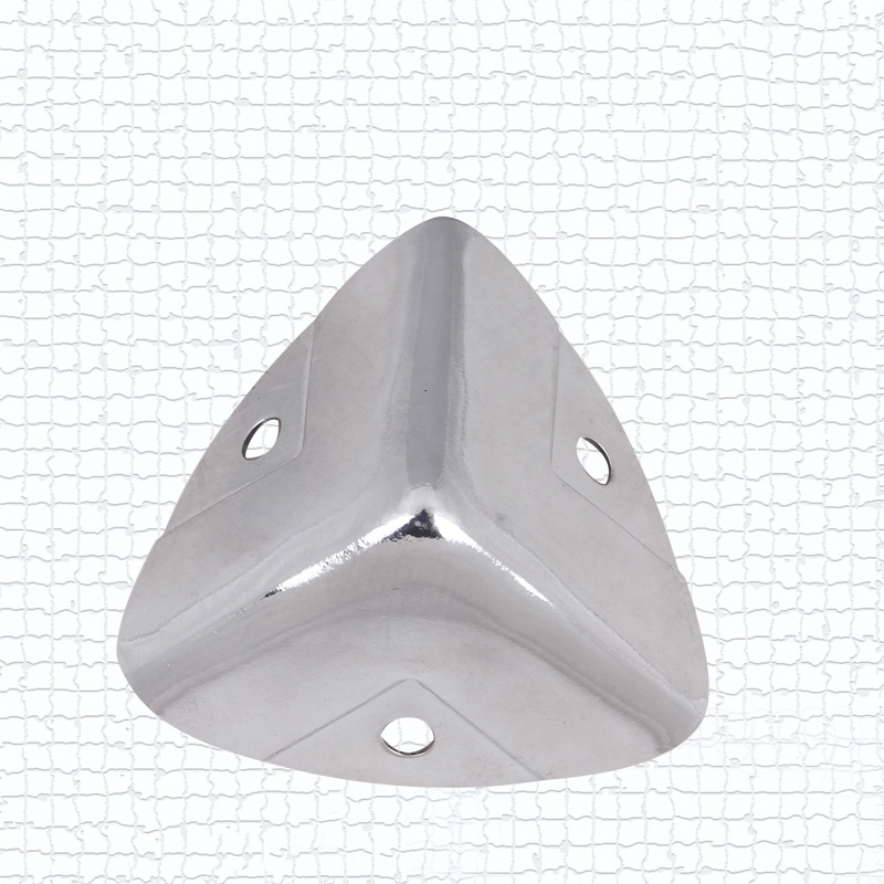 NRH 7401-28B chrome angolo Protector Top quality caso di Volo strada caso caso attrezzature prestazioni cornerite finitura cromata