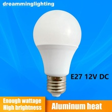 E2712V DC Led Lamps Cool White Down Lights Home globe Interior Lighting 3w 5w 7w 9w 12w 15w Replacement Bulbs Camping Emergency(China)
