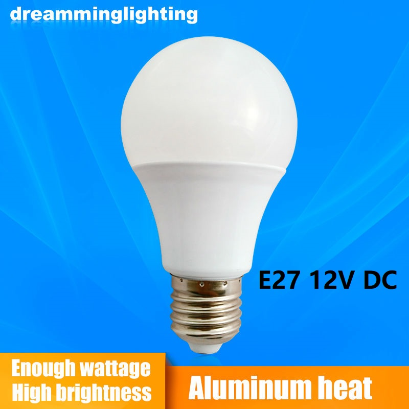 E2712V DC Led Lamps Cool White Down Lights Home Globe Interior Lighting 3w 5w 7w 9w 12w 15w Replacement Bulbs Camping Emergency