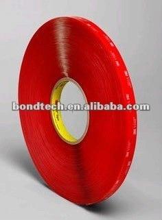 Фотография 1/2inX33M 3M VHB tape 4910 Clear for glass,metal,1.0mm Free shipping