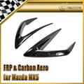 Epr car styling para mazda mx5 miata roadster nd5rc sblz artesanato de fibra de vidro frp bumper tampa do duto