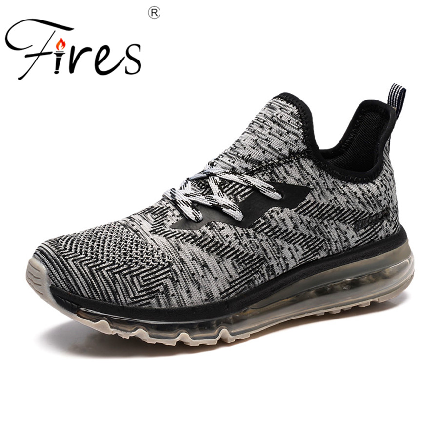 Fires Air Sneakers Men Professional Cushion Sports Shoes Autumn Mens Outdoor Breathable Running Shoes Trend Zapatillas Shoes uovo children winter shoes kids fox fur walking shoes girls snow shoes mid cut footwear for kids winter hiking boots for girls
