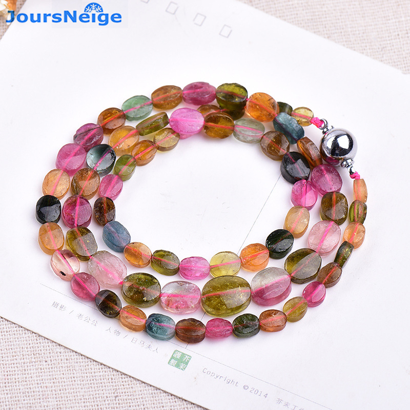 JoursNeige Natural Tourmaline Bracelets Crystal Necklace for Women Women Simple and Fresh Crystal Bracelet Multilayer Jewelry joursneige natural tourmaline bracelets crystal necklace for women women simple and fresh crystal bracelet multilayer jewelry