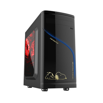 Space cabinet ATX PC computer Case For M-ATX motherboards Vertical Micro ATX Desktop PC tower box for gamer computer chassis
