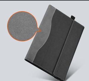 Image 3 - Design créatif housse pour Lenovo yoga book 10.1 pouces tablette housse pour ordinateur portable housse pour ordinateur portable pochette en cuir PU stylet de peau cadeaux
