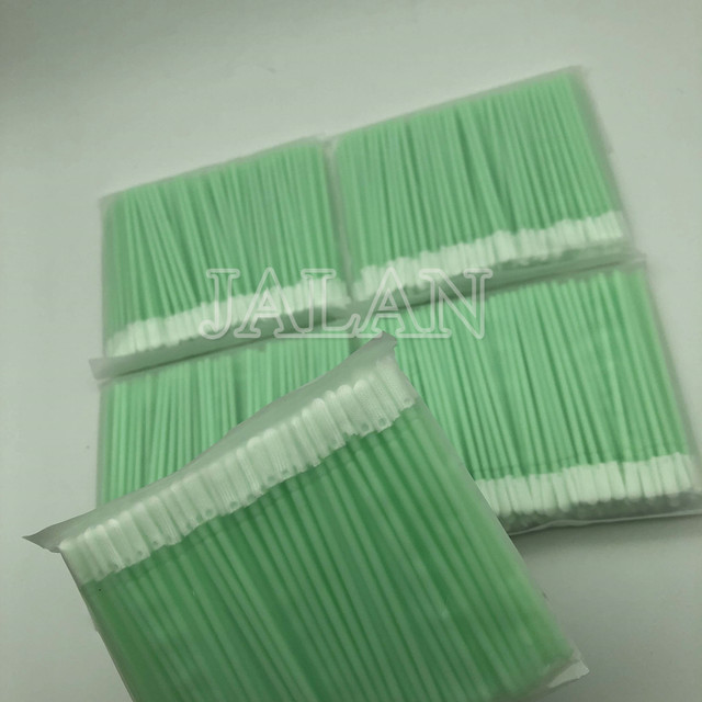 100pcs/bag Pro Dust Free Disposable Cleaning Swab Cotton Stick For Headphone Mobile Phone Charge Port Cleaning