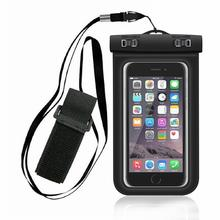 6 inch Mobile phone waterproof bag waterproof mobile phone case PVC outdoor sports swimming mobile phone case стоимость