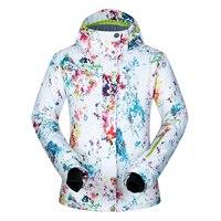 Winter Ski Jacket Women PM 2018 High Quality Windproof Waterproof Warmth Coat Snow Skiing Camping Winter Snowboard Jacket Brands