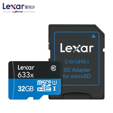 Lexar95MB/s 633x Micro SD 16g SDHC 32GB Class 10 64GB micro SDXC Memory Card Reader UHS-1 for Drone Gopro Dji Sport Camcorder(China)