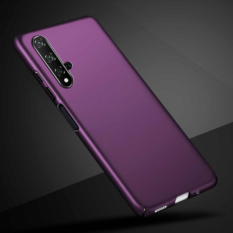 Para Huawei Honor 20 Pro funda de Honor 20 funda trasera dura mate para Huawei Honor 20 Pro Honor20 pro 20Pro YAL-L21 YAL-L4