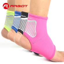 Arbot 1 pcs Support Brace Ankle for Basketball Badminton Breathable Protection Pad Soprts Ankles nakefit for Women Men tobillera