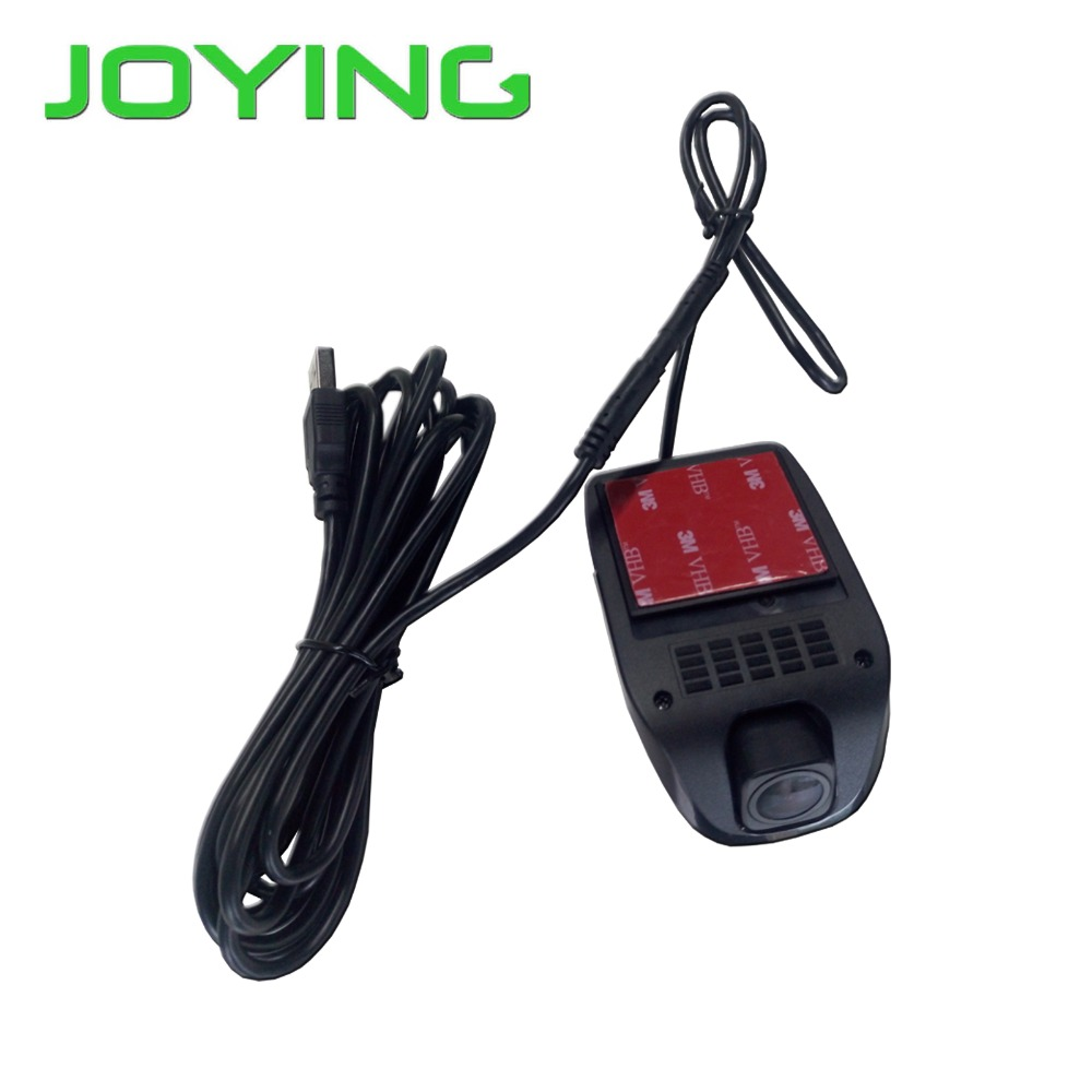 JOYING USB Port font b Car b font Radio Head unit Front DVR Record Voice Camera