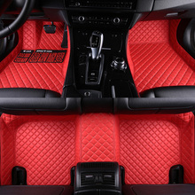 HLFNTF Car floor mats for BMW 3 5 7 Series E70 E71 E90 F30 E60 F48 E83 F10 F11 F01 G11 X1 X3 X4 X5 X6 F25 F15 F16 carpet liner цена