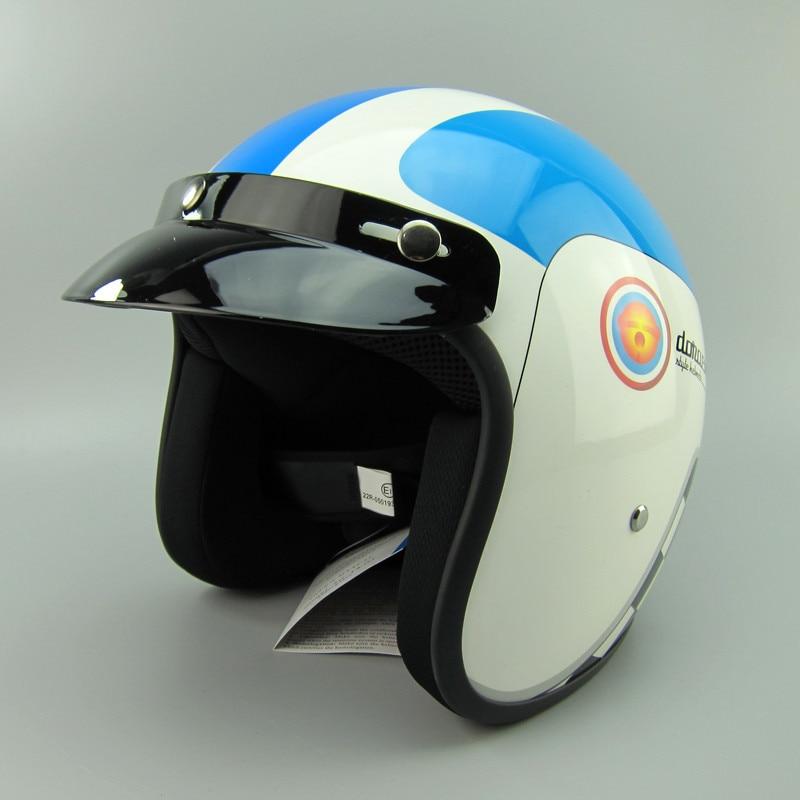 ФОТО Motorcycle personalized Viking fiberglass retro helmet