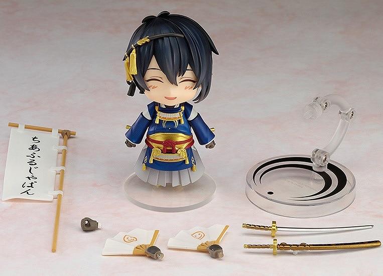 Touken Ranbu Online Mikazuki Munechika Nendoroid Action Figure PVC New Collection figures toys brinquedos Collection