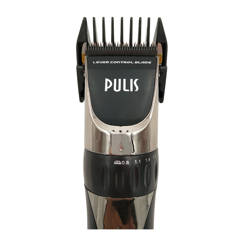 PULIS Profession Hair Clipper 2200mAh 100-240V Rechargeable Electric Hair Trimmer with LCD Display Haircut Machine Barber Tool