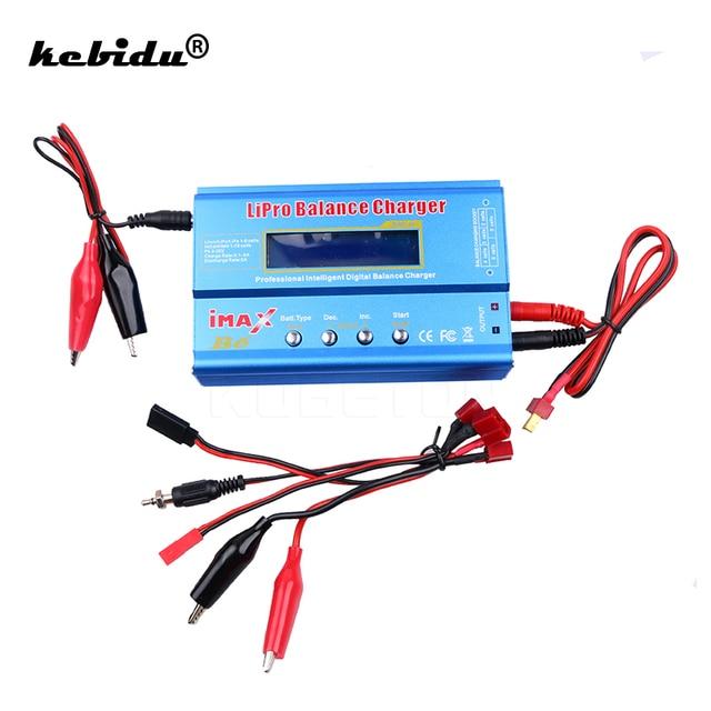Высококачественное зарядное устройство kebidu iMAX B6 50 Вт 5A для аккумуляторов Lipo NiMh Li Ion Ni Cd, цифровое балансирующее зарядное устройство с дистанционным управлением для Walkera x350
