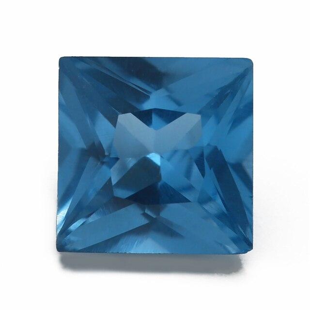 Купить размер 3x3 мм ~ 10x10 синяя квадратная форма фотоэлемент украшений картинки