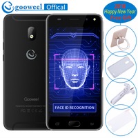 NEW 5inch Mobile Phone Gooweel S7 MTK6580 Quad Core Face Wake 3G WCDMA Mobile Phone 5