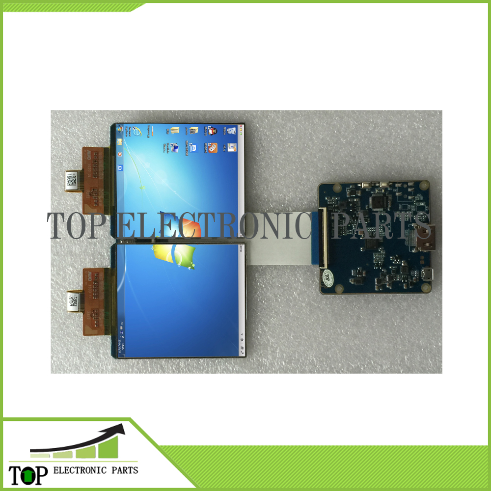 3.81 inch 1080x1200 AMOLED display screenn 3D VR head mounted display with HDMI to MIPI board for HMD TF38101A