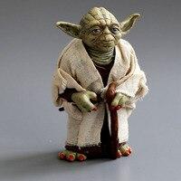 Star War Master Yoda The Force Awakens Action Figure Jedi Knight Master Yoda PVC Toy