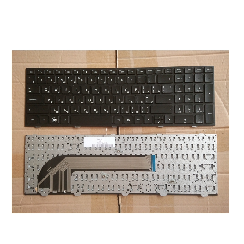 New Russian Keyboard  FOR HP For Probook 4540 4540S 4545 4545S  RU Laptop Keyboard With Frame