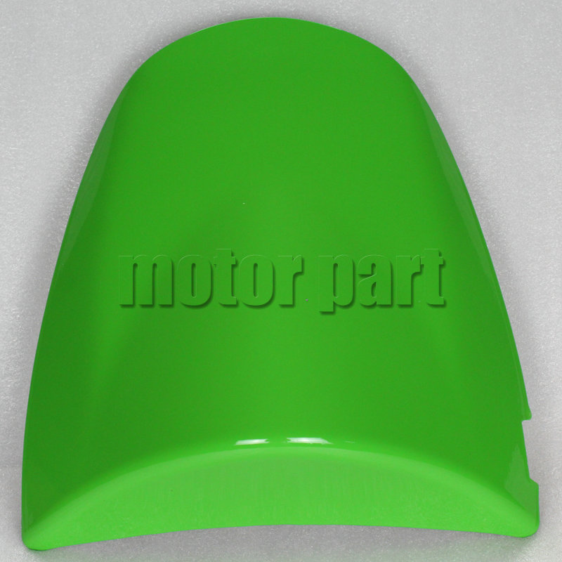 For Kawasaki ZX6R ZX 6R 2003 - 2004 / Z750 Z1000 Z 750 1000 2003 - 2006 Motorcycle Rear Passenger Seat Cover Cowl Green 05 06 04 for 2009 2014 kawasaki zx6r zx 6r 636 motorcycle rear passenger seat cover cowl green black 09 10 11 12 13 14