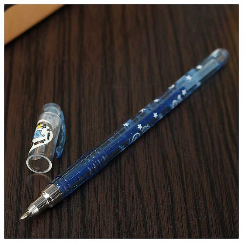 1 ensemble 12 1.0mm couleurs paillettes Gel stylos pour artisanat Scrapbooking bricolage carte-cadeau