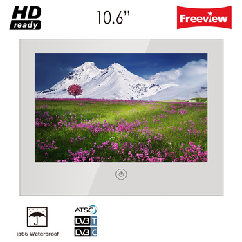 Souria 10.6inch Vanishing Magic Mirror Shower TV IP66 Waterproof Hotel Bathroom Television LED TV