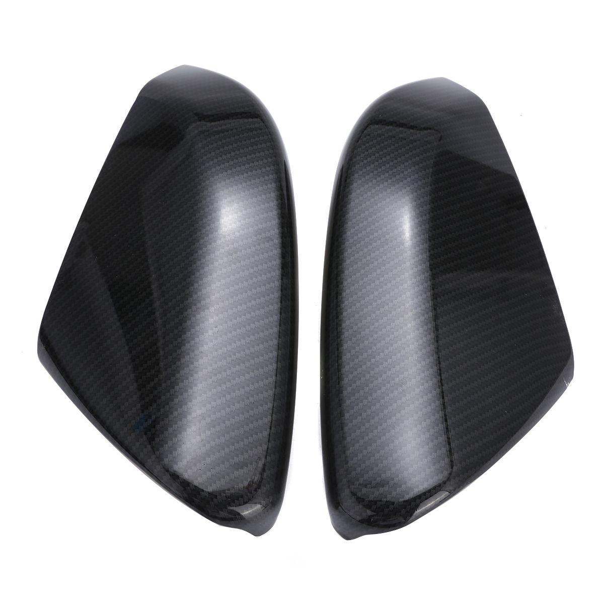 For Civic Door Car Rear View Side Mirror Cover Cap For Honda Civic 2016 2017 2018 Molding Styling Trim Cover Carbon Fiber Style цена