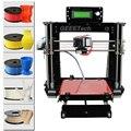 Geeetech I3 Pro B 3D impresora de marco de acrílico más Reprap Prusa Kit de bricolaje de alta precisión impresora LCD gratis