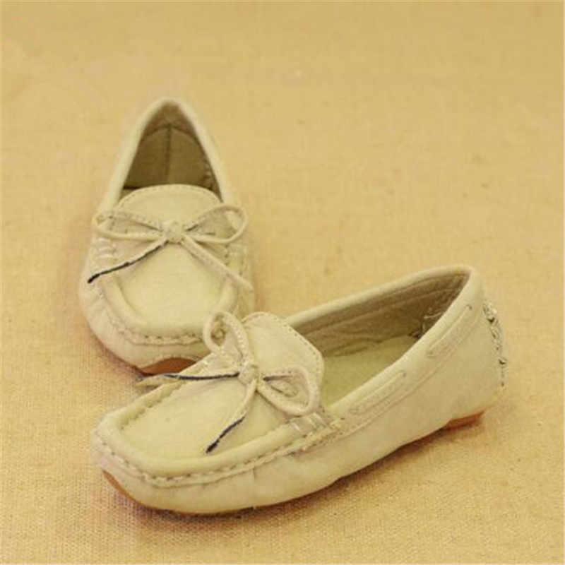 חדש האביב/סתיו נעלי ילדי נעלי תינוק פעוט מזדמן בני עור נעלי מיקרופייבר שטוח עם ילדים נעלי 041